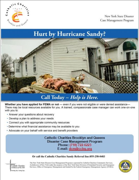 Catholic Charities Disaster Case Management - How to Register