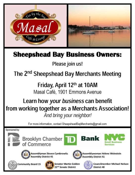 Sheepshead Bay Merchants Meeting