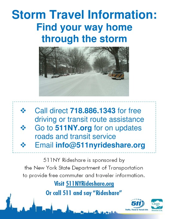 Storm Travel Information